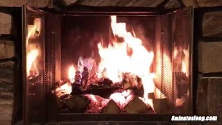 Stunning Fireplace Video | HD 10 Hours Wood Fire Crackling Sounds White Noise | Relax, Study, Sleep