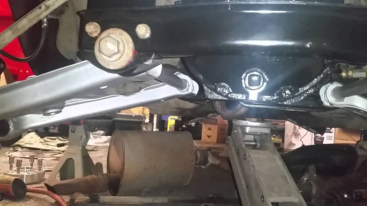 Datsun 280z suspension update