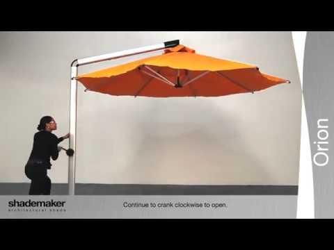 shademaker orion series umbrella