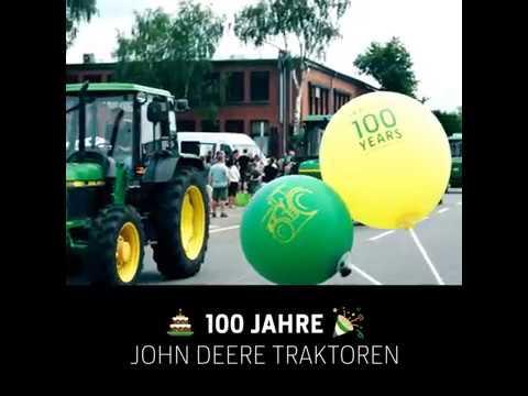 John Deere Traktoren mischen Mannheim auf