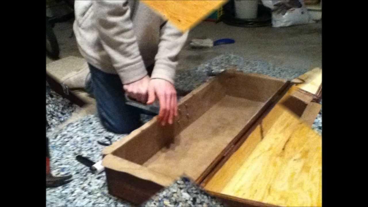 DIY pedal board case - YouTube