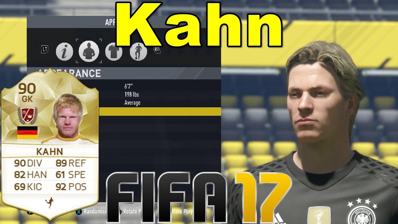Oliver Kahn Fifa 18