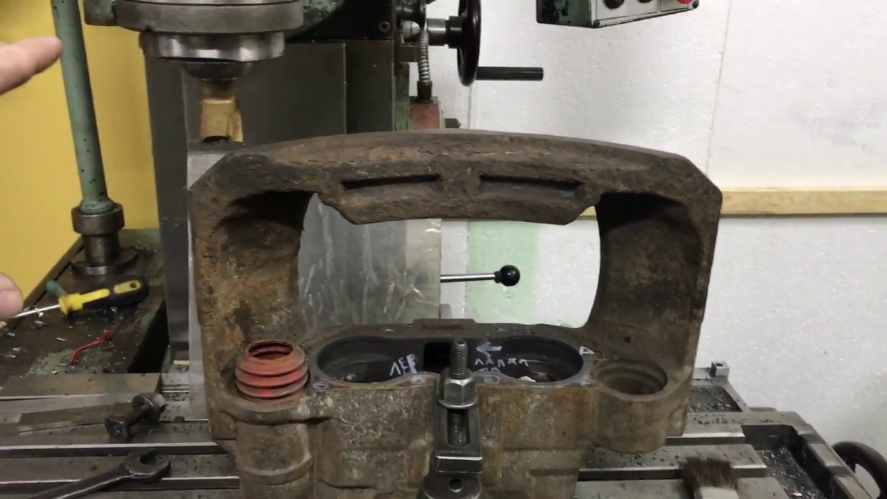 Ремонт тормозного суппорта Knorr или