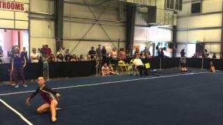 Jessica Wright Floor 2016 Region 1 Championships