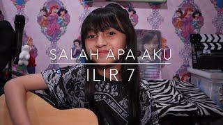 Gambar cover Salah Apa Aku (Entah Apa Yang Merasuki)| Acoustic Version | Alyssa Dezek