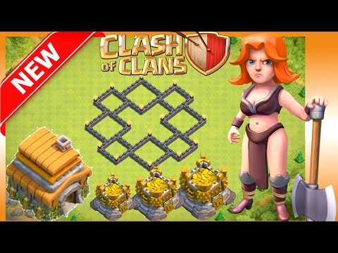 NEW BEST TH6 TROPHY/WAR BASE +REPLAYS (PROOF) | HYBRID FARMING Get Gold & Elixir FAST Clash Of Clans