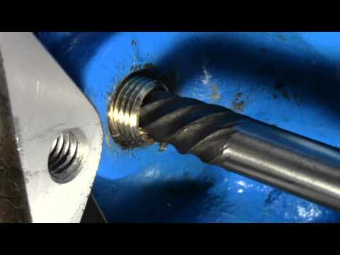 How to Use a Screw Extractor | Remove snapped off bolt from engine