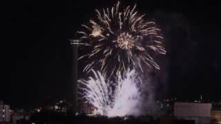 4k Happy New Year 2020 in South Korea