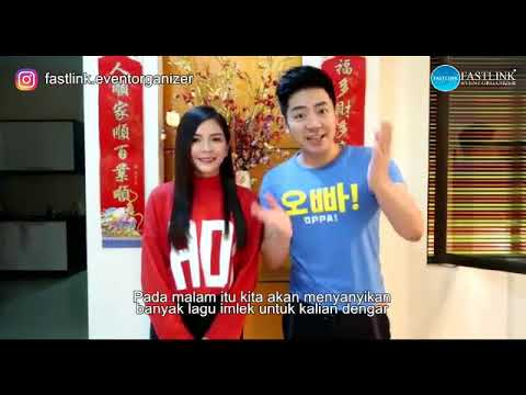 Nick Chung & Stella Chung COME TO MEDAN INDONESIA!!!OMG!钟盛忠 钟晓玉去印尼Medan唱歌!!!