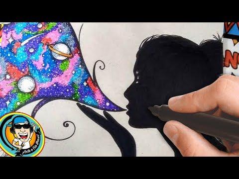 Como Desenhar Garota Tumblr Soprando Universo Arteeciabrasil