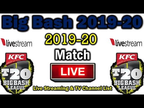 Big Bash League 2019-20 Live Streaming & TV Channel List | BBL 2019-20 Live Streaming,