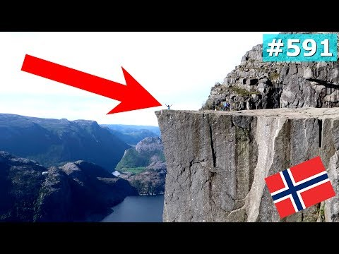 EPIC NORWAY PREIKESTOLEN HIKE VIEW DAY 591 | TRAVEL VLOG IV