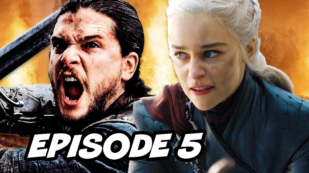 Download Game Of Thrones Season 8 Episode 5 - TOP 10 WTF and Easter Eggs