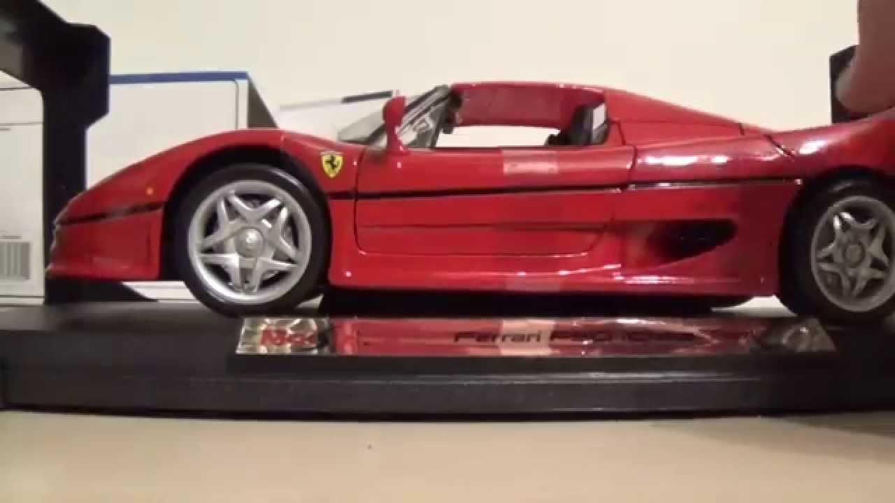 1/18 Ferrari F50 Unboxing - Maisto - YouTube