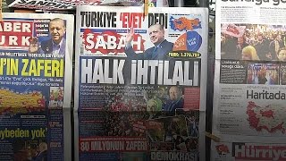 Urban Turks divided on referendum result