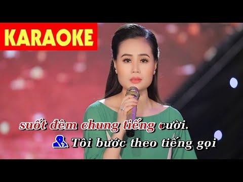 Karaoke   Lk Căn Nhà Ngoại Ô, Chuyện Giàn Thiên Lý (Song Ca) - Hoàng Thiên Kiều & Đông Nguyễn