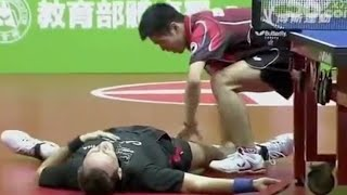 😂 The Funniest Moments of Table Tennis 2018 🏓