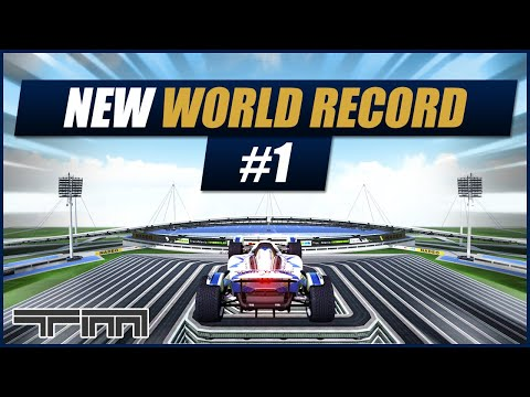 Piece Of Cake - Triple World Record   Trackmania Nations Forever  