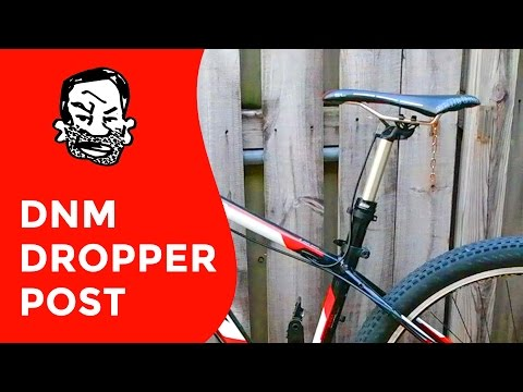 DNM Cheap Dropper post unboxing and review