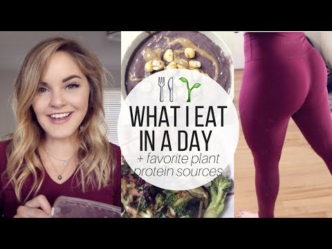 FULL DAY OF EATING 🌱😋 Will I Ever Go Vegan? | Healthy Meal Ideas & Plant-Based Protein Sources