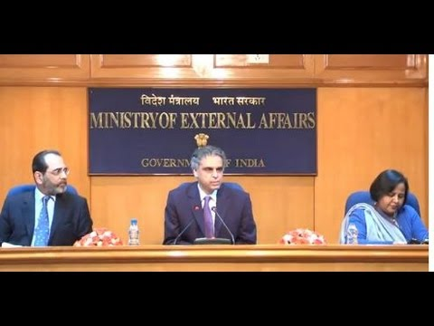 Media briefing focusing on the visit of President of France (February 12, 2013) Part 1 of 2