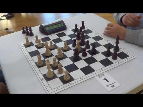 IM Eric Rosen - GM Evgeny Sveshnikov, LONDON SYSTEM, Rapid chess