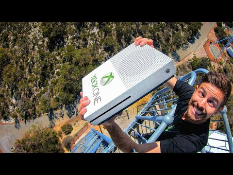 Can An Xbox One Survive A 45m (150ft) Drop?