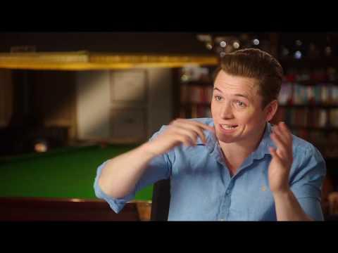 "Kingsman The Golden Circle Taron Egerton ""Eggsy"" Behind The Scenes Interview"