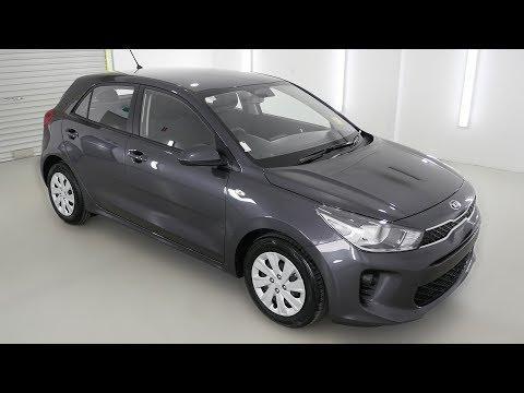 Cerato 2017 Hatchback >> KIA RIO S Platinum Graphite Auto Hatchback K038761 - YouTube