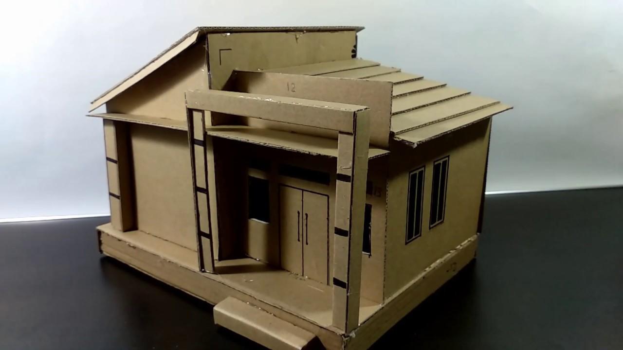 Membuat Rumah Joglo Dari Kardus Rumah Joglo Limasan Work