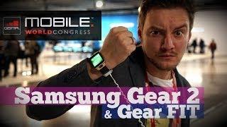 Первый обзор часов Samsung Gear 2 и браслета Gear