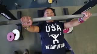 Warrior Games 2018 Power Lifting Training