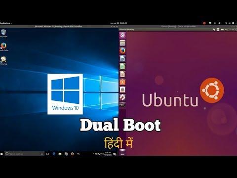 Ubuntu-Windows Dual Boot. Install Ubuntu Along With Windows 7/8/10