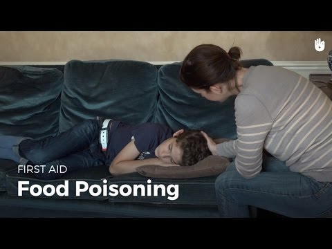 First Aid: Food Poisoning | First Aid