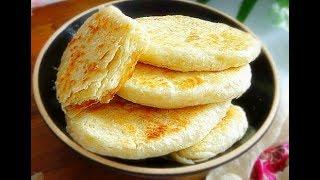 椒盐芝麻烧饼-平底锅做出来的美味,表皮香酥,一口下去,宣软无比-家庭厨房菜谱