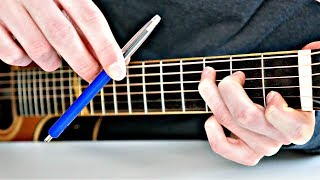Guitar Meets Pen Tapping