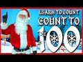 🎅 Learn To Count To 100 With Santa Kids Christmas Songs 🎄 Let's Get Fit Superhero Sing Along Songs