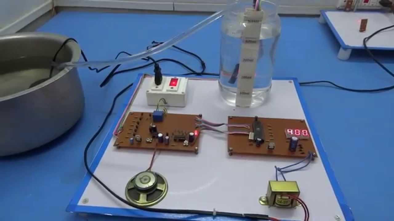Getfreereading Water Level Control Circuit
