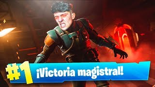 EPIC VICTORIA WITH THE HIDDEN SKIN 'THE VISITANT' DE FORTNITE: Battle ROYALE!! - Agustin51