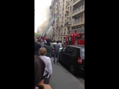 Fire and Rescue Porte de Saint-Cloud, Paris