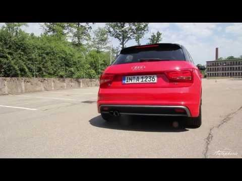Audi A1 Sportback 1.4 TFSI s-line (185 PS) - Sound / Standing Start
