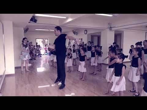 Nanchong. Latin school. My students. Rumba. Denis Dunaev. Latin Dance in China