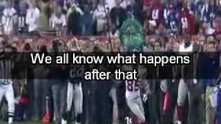 Super Bowl XLII Asante Samuel dropped interception. Buckner?