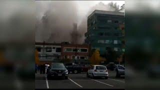 Explosin de gas deja 3 muertos y 50 heridos en clnica de Chile