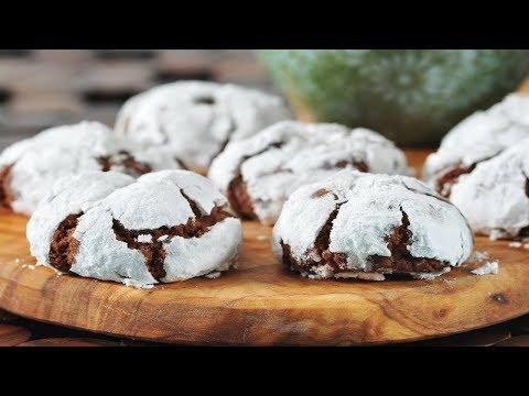 Chocolate Crinkles Recipe Demonstration - Joyofbaking.com