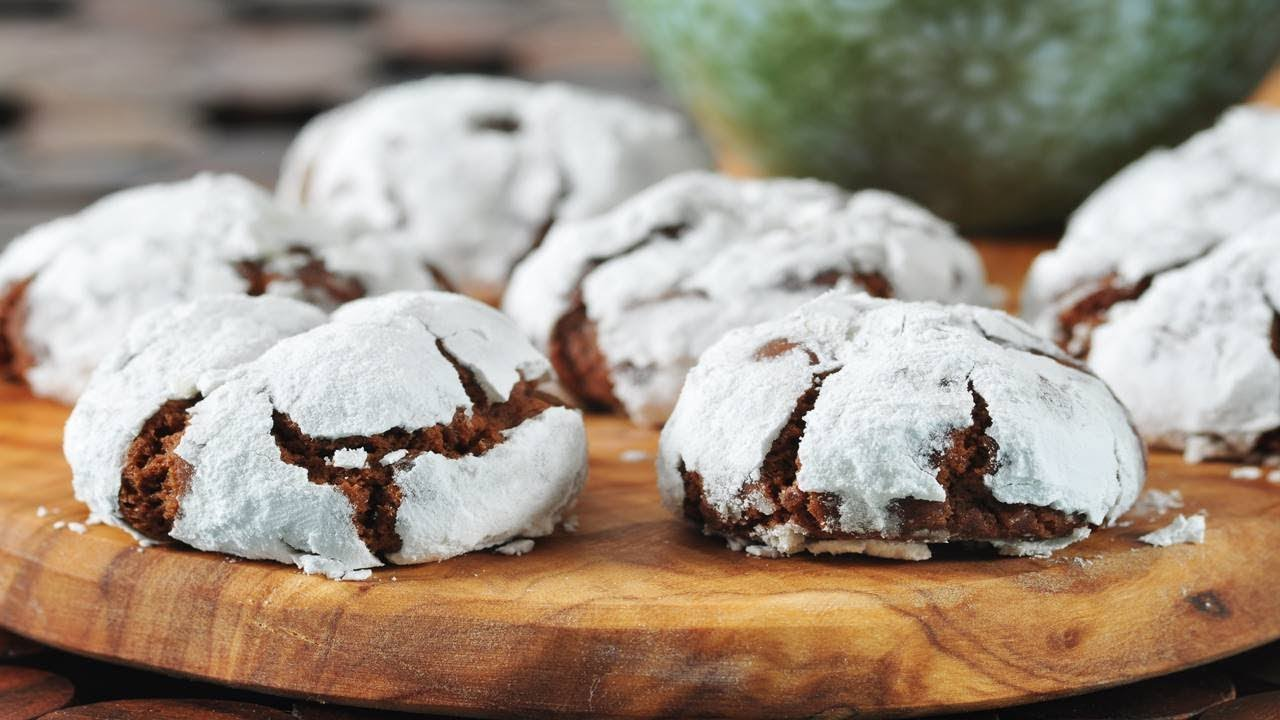 Chocolate Crinkles Recipe Video