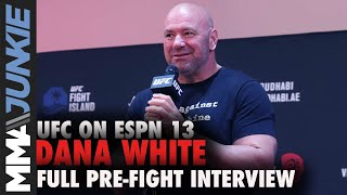 Dana White on UFC 251 PPV buys: 'Masvidal a star' | UFC on ESPN 13 pre-fight interview
