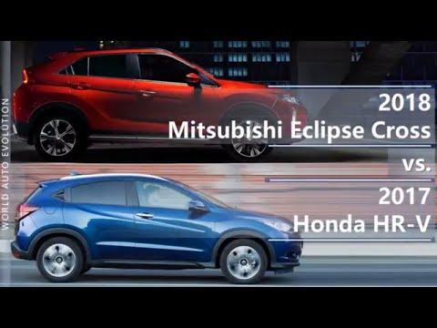 2018 Mitsubishi Eclipse Cross vs 2017 Honda HR-V (technical comparison)
