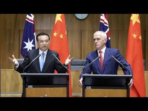 Chinese, Australian leaders pledge to safeguard trade liberalization