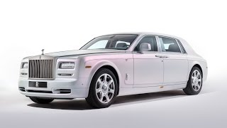 Rolls Royce Unveil Serenity - A Bespoke Phantom with Silk Interior